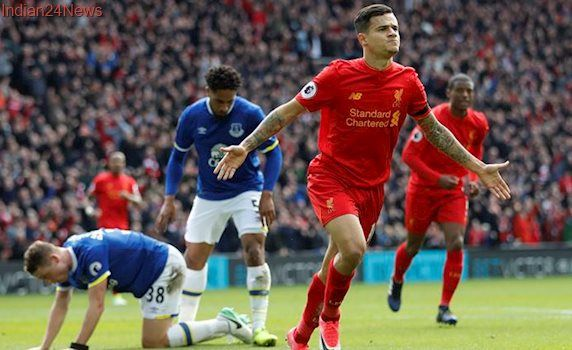 Philippe Coutinho stars as Liverpool beat Everton 3-1 in Merseyside Derby