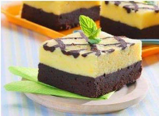 Resep Kue Coklat Keju Panggang
