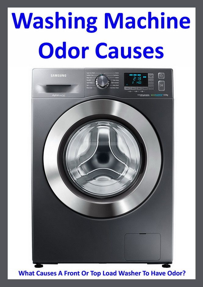 best front load washer washing machine odor what causes a front or top load 12816