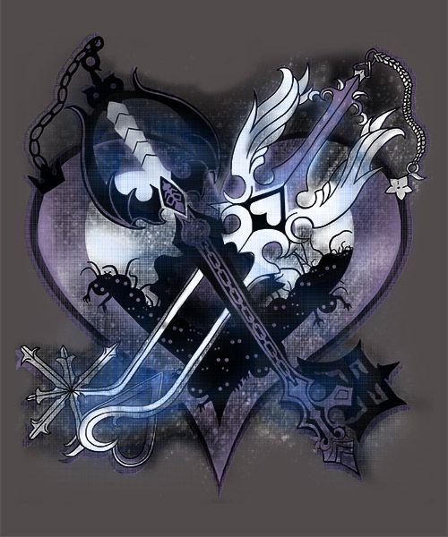 Oathkeeper & Oblivion - Kingdom Hearts