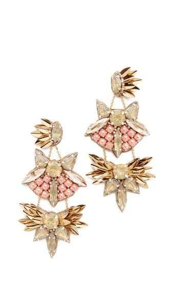 Deepa by Deepa Gurnani Queenie earrings