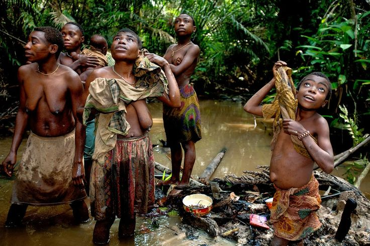 People of the Congo Rainforest - the