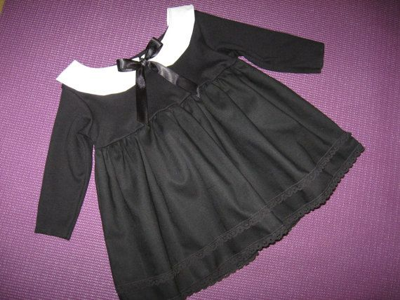 TOTALLY STUNNING -NEW BABY DESIGN-VERY COOL Gothic Black long roll up sleeved…