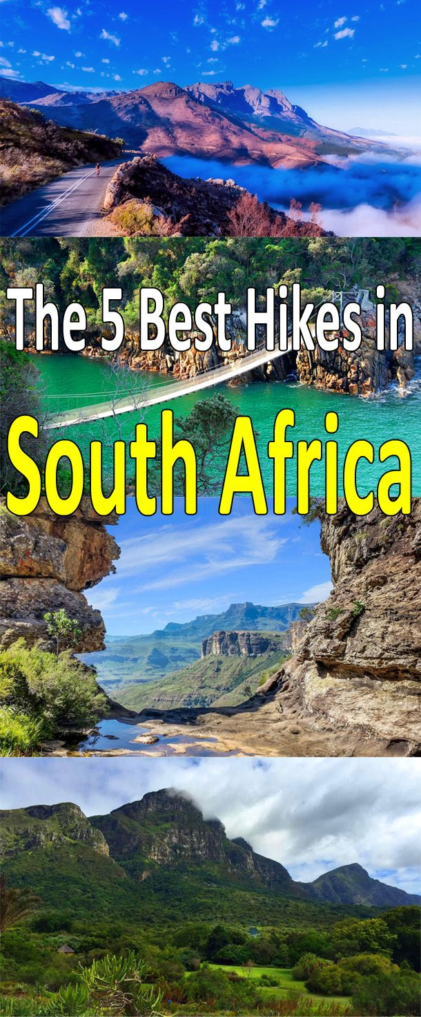 This post combines 2 of my loves: South Africa and hiking. More here: http://bbqboy.net/5-best-hikes-south-africa/ #southafrica