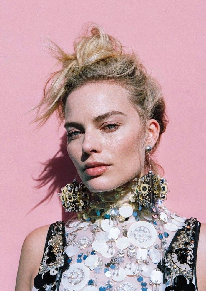 Must-See: Margot Robbie's Crazy-Cool Spread for Oyster Magazine via @WhoWhatWearUK