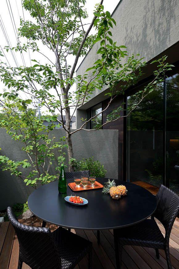 中庭のある家 リビングテラスのある家 アーキッシュギャラリー