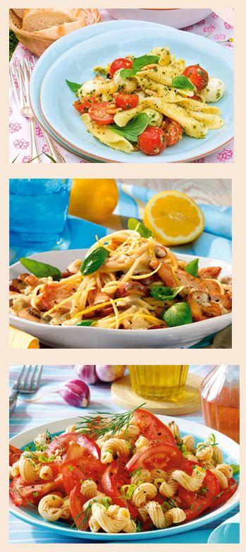 Erfrischend! Die besten Nudel-Rezepte bei heißem Wetter: http://www.bildderfrau.de/rezepte/sommerliche-nudelrezepte-d58613.html  #nudelrezepte #pasta