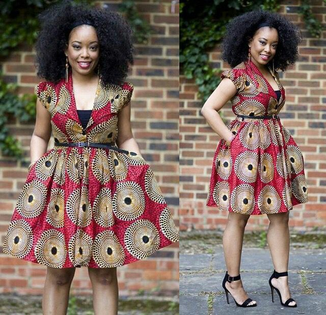 Nigerian fashion has grown and there's no doubt that the Ankara fabric is here to stay as it represents Africa…