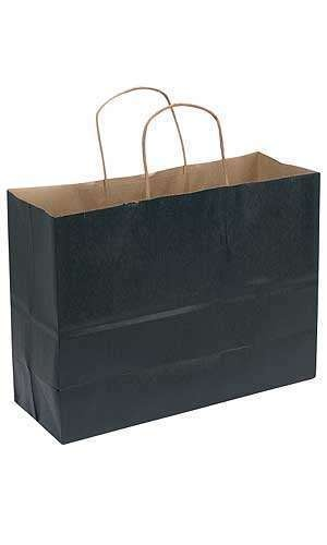 54.58 for 100 16x6x12 black paper bags