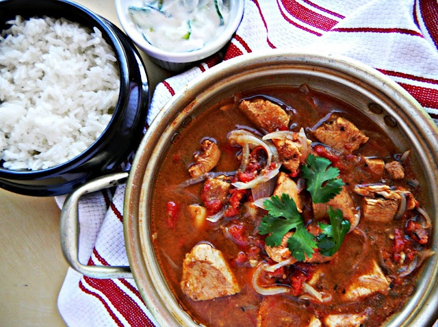 """Chicken vindaloo. Can't say that without thinking """"Red Dwarf""""!"""