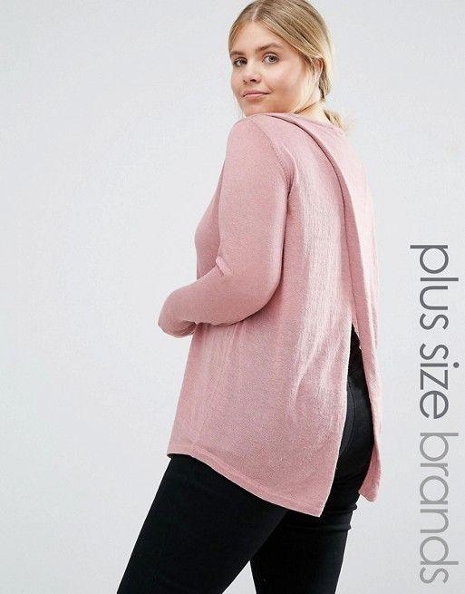 Junarose | Junarose Wrap Back Knitted Sweater