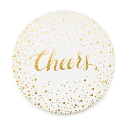 Golden 'Cheers', Sugar Paper