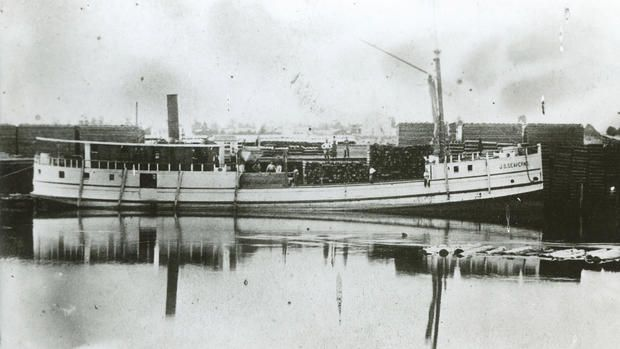 His ship sunk, his belongings gone but for the clothes on his back, L.S. Upson surveyed the scene along the remote shore of Lake Superior 100 miles north of Sault Ste. Marie, Ontario.Upson was one of about 60 passengers and crew who survived the sinking of the packet steamer J.S. Seaverns near Michipicoten...