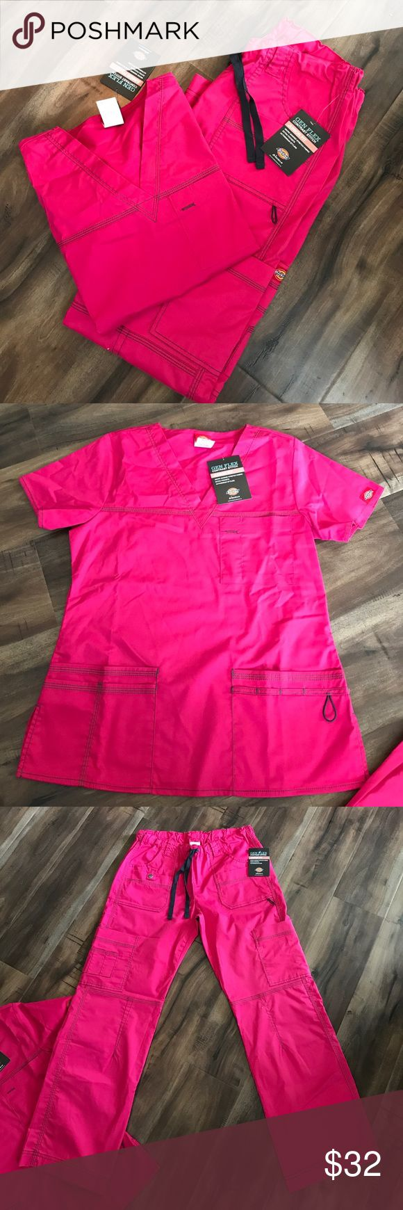 Dickies Scrub Set Brand new scrub set. Shirt is XS. Pants are a Small. Dickies Other