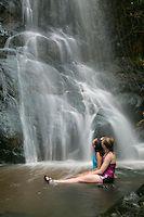 Reef Bay Waterfall, St John | Steve Simonsen Photography