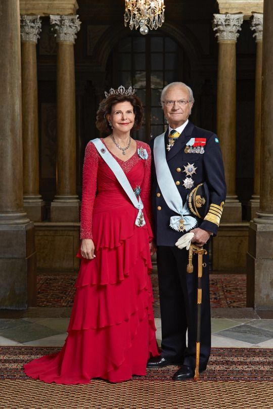 New official photos released in celebration of King Carl Gustaf of Sweden's 70th birthday (April 30th). April 26, 2016