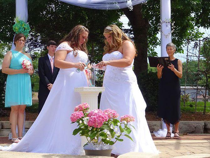Ceremony gay lesbian perfect planning same sex wedding-5467