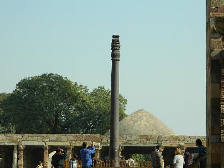 The Incredible Rust-Resistant Iron Pillar of Delhi.