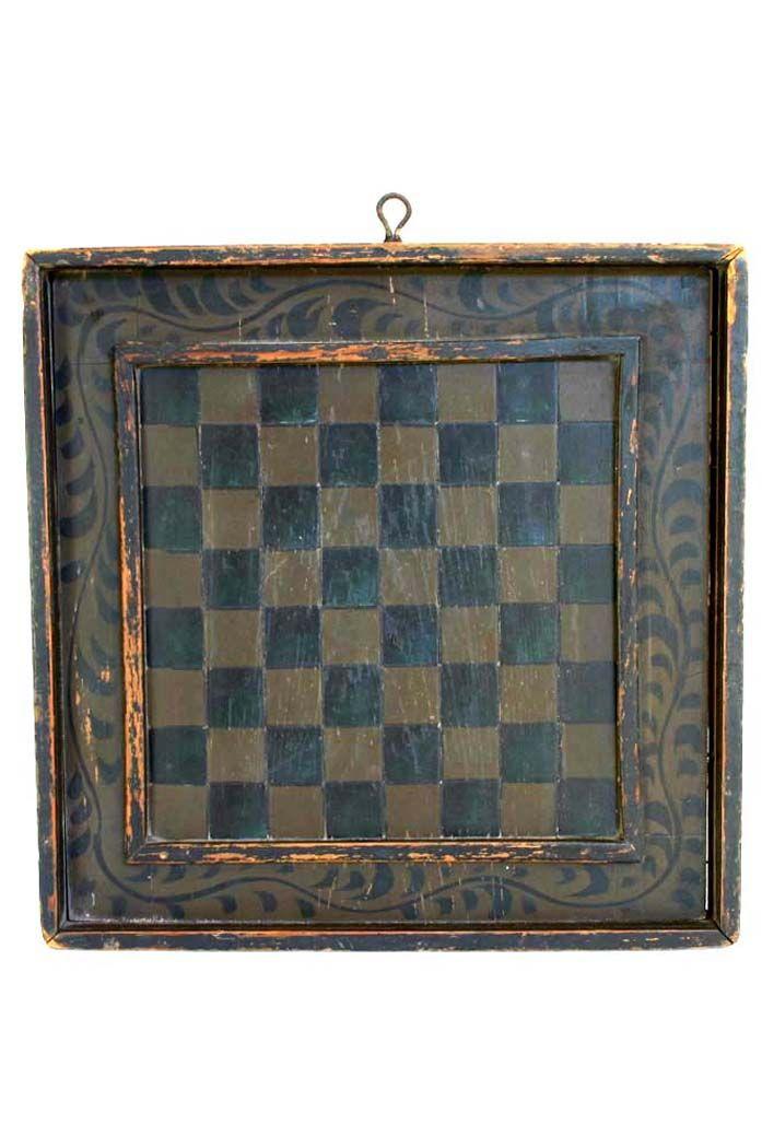 19th. C game board