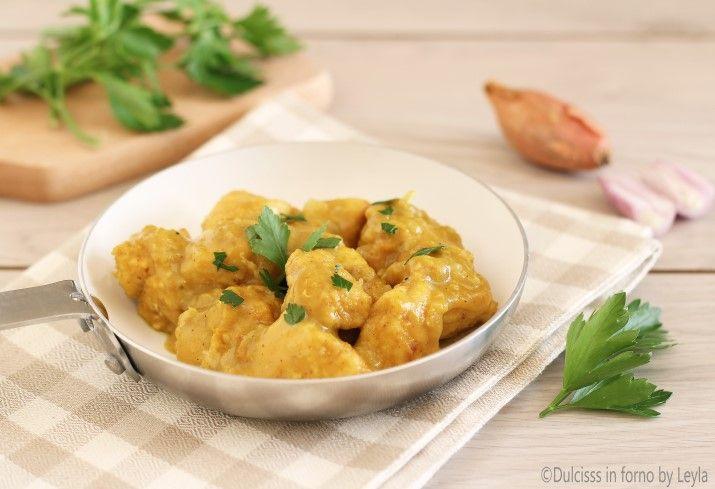 Petto+di+pollo+al+curry+ricetta+senza+yogurt+e+senza+panna
