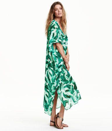 H&M 패턴 카프탄 ₩39,000