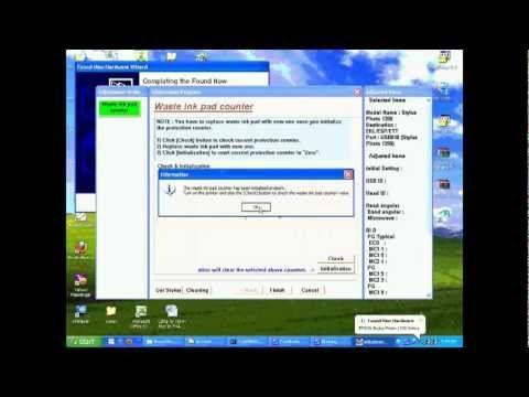 Hướng dẫn Reset tràn bộ nhớ máy in Epson 1390