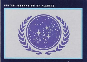 1991 Impel Star Trek 25th Anniversary #293 United Federation of Planets Front