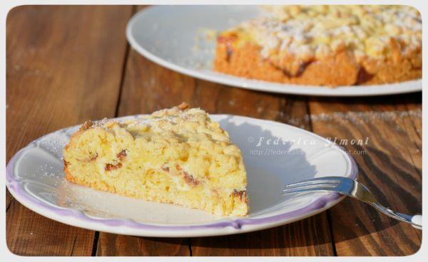 La cucina di Federica: Crostata con ricotta e gocce di cioccolato
