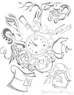Drawings on Pinterest | Spider Monkeys, Giraffes and Alice In ...