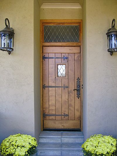 Tudor replacement door -- Door Style DbyD4001 (Doors by Decora)