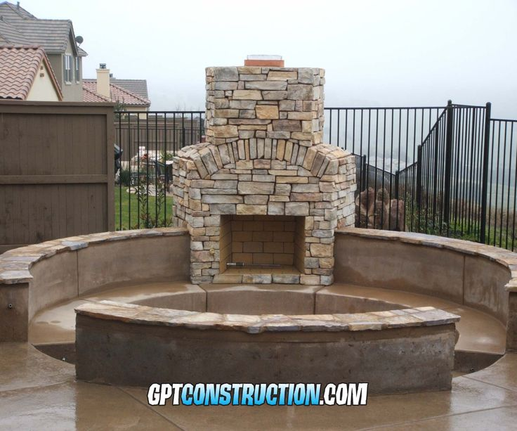 The 25 Best Outdoor Wood Burning Fireplace Ideas On Pinterest Wood Burning Fire Pit Fire Pit