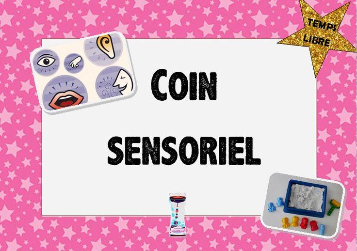 coin sensoriel dans une classe