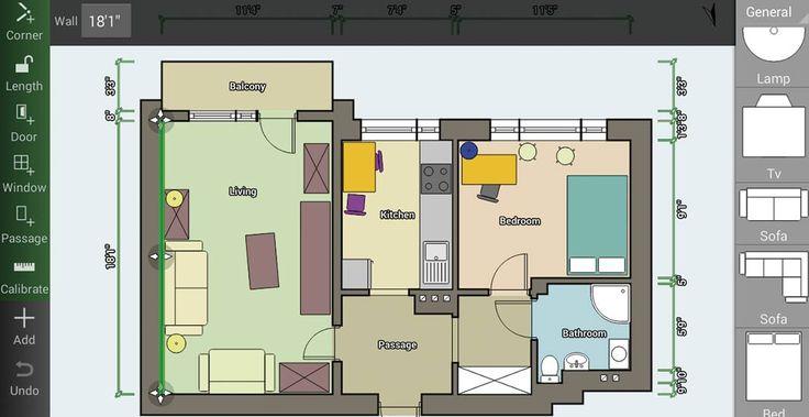 Die besten 25+ Floor plan app Ideen auf Pinterest Schlafzimmer - inneneinrichtung 3d planen kostenlos software