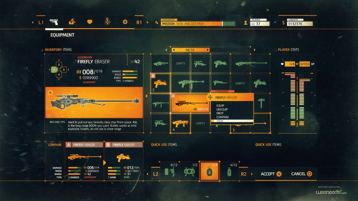 ArtStation - Ui and FUI for movies, games and tests, Davison Carvalho