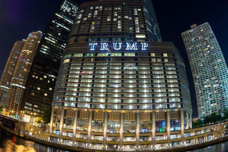 トランプインターナショナルホテル&タワー/アメリカ・シカゴ