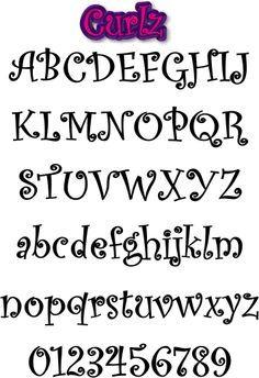 resultado de imagen para diseos de letras para decorar