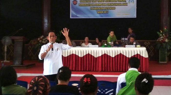 Forkom P2HP Sosialisasi Kesetaraan Gender di Rote Ndao