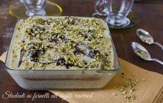 Tiramisù pistacchio e nutella, semifreddo fresco e goloso senza cottura. Ricetta facile veloce con uova fresche savoiardi e mascarpone.
