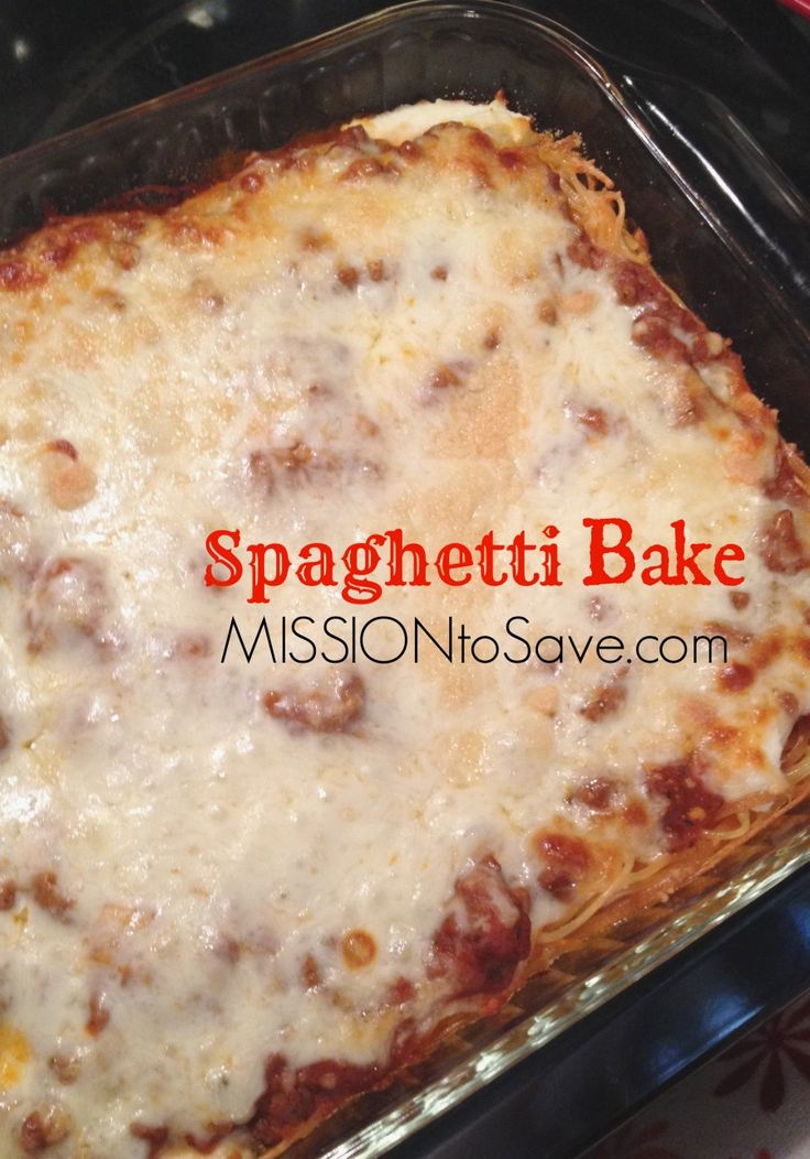 Spaghetti Bake Recipe – Perfect for Freezer Cooking and Busy Weeknight Dinners