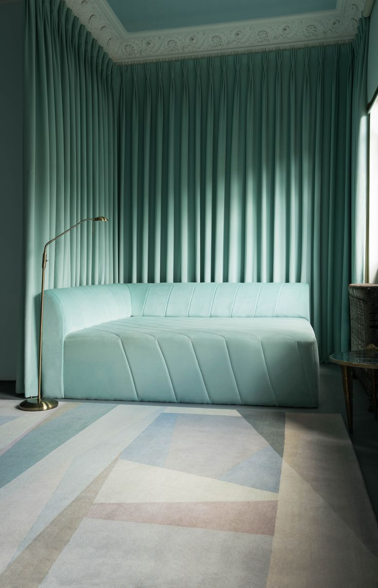 Ideas about turquoise lamp on pinterest apartment - Paul Smith X The Rug Company Split Light Rug
