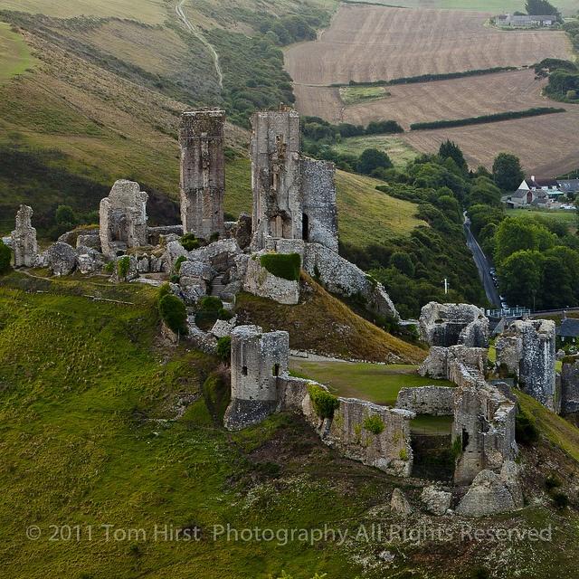 Corfe Castle, Devon ,England.50.64,-2.058