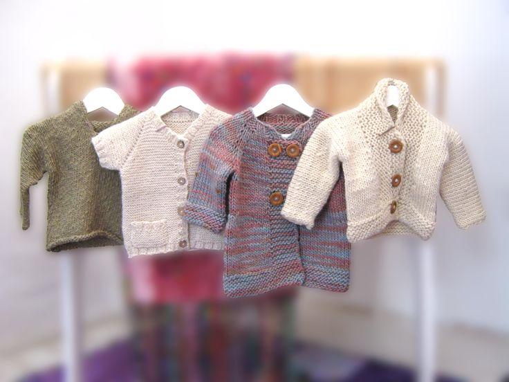 Chaleco algodón verde, chaleco alpaca manga corta crudo, chaquetón multicolor oveja y chaqueta crudo oveja