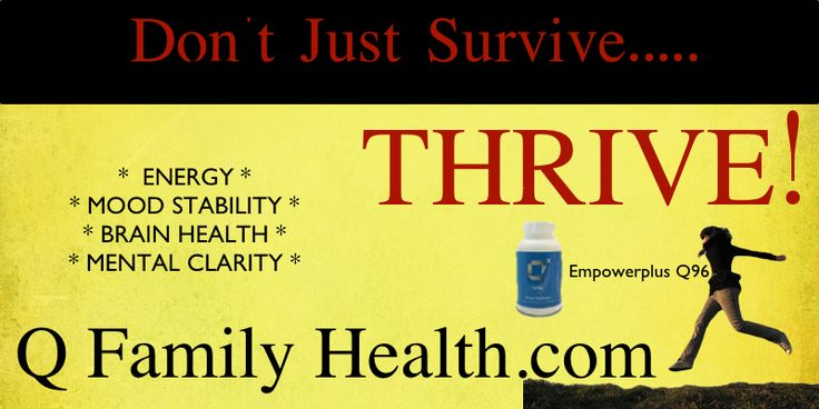 http://qfamilyhealth.com.  I have so much more energy now that I take this!  # energy # natural supplements #empowerplus #96