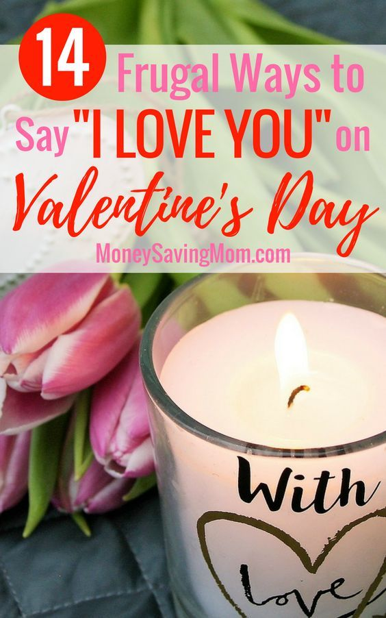 Great list of FRUGAL and FREE Valentine's Day gift ideas for your spouse or significant other! Valentine's Day doesn't have to break the bank!
