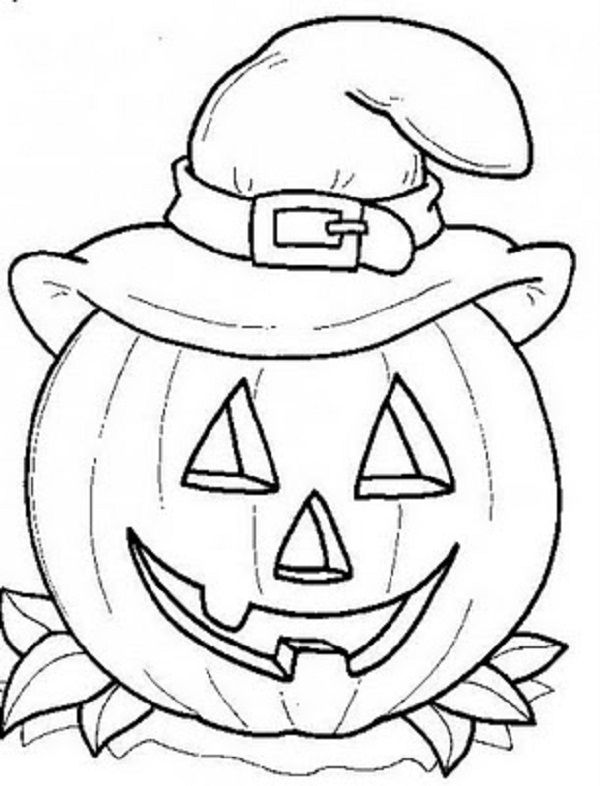 curious george pumpkin coloring pages - photo#11
