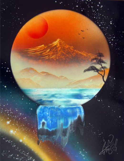 205 Best Spray Paint Art Images On Pinterest