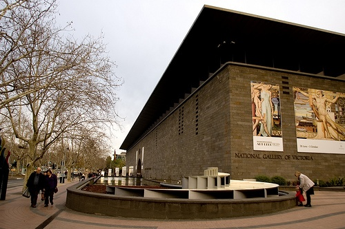National Gallery of Victoria. Melbourne, Australia 1962.