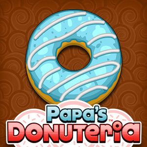 Head to Papa's new restaurant in the Powder Point amusement park, where you'll serve stacks of delicious donuts!  Choose the correct dough and donut shape, fry the donuts, add icing and fillings, and finish them off with sprinkles and drizzles before boxi