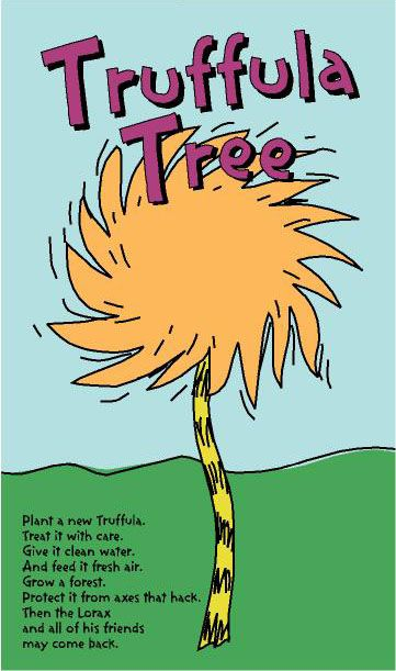 Truffula tree poem