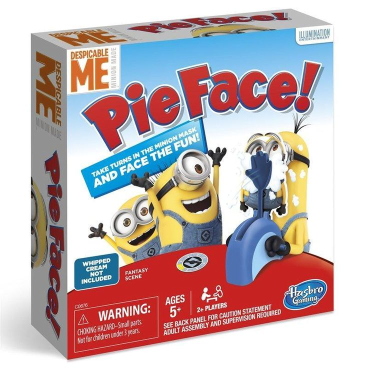 Minions Pie Face Game